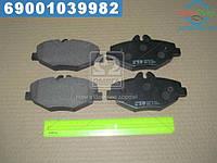 ⭐⭐⭐⭐⭐ Колодки тормозные Mercedes E-CLASS (W211), E-CLASS KOMBI (S211) передние (производство  CTR)  CKBZ-50