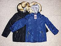 Зимняя куртка на меховой подкладке для мальчиков Тaurus 8-16 лет