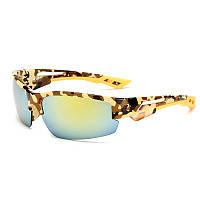 Антибликовые солнцезащитные очки + камуфлированный футляр.