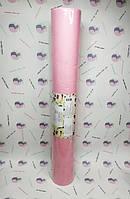 Простирадла Panni Mlada™ 0,8х200 м (1 рул) зі спанбонд 20 г/м2 Колір: рожевий