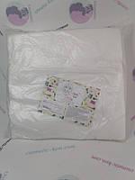 Серветки в пачці Panni Mlada™ 20х20 см (100 шт/пач) зі спанлейсу 40 г/м2 Текстура: сітка