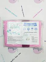 Халат кімоно без рукавів з поясом Doily® L/XL (1 шт/пач) зі спанбонд Колір: рожевий/pink