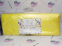 Чохол для педикюрної ванночки Panni Mlada™ 50х70 см (50 шт/пач) з поліетилену Колір: жовтий/yellow