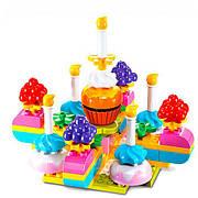 Конструктор Smoneo 66002 Торт со свечками 65 крупных деталей 3+