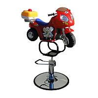 Кресло парикмахерское детское «Мотоцикл»