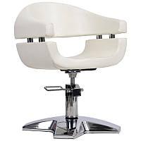 Парикмахерское кресло Gamma бежевое, фото 1