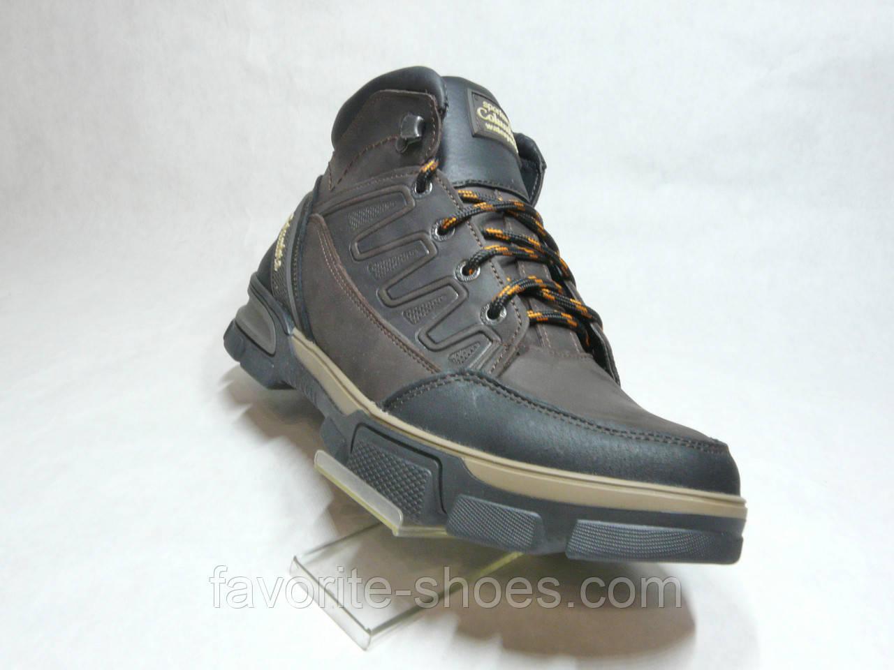 Зимние мужские кожаные ботинки Columbia