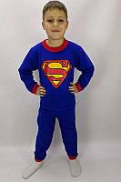 """Детская теплая пижама для мальчика """"Супермен"""""""