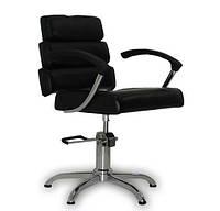 Парикмахерское кресло Italpro черное, фото 1