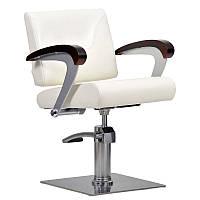 Парикмахерское кресло Kubik бежевое, фото 1
