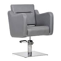Парикмахерское кресло Lux графитовое, фото 1