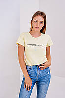 Женская футболка Stimma Силина 3666 M Желтый