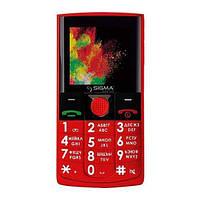 Телефон Sigma Mobile Comfort 50 Solo red EAN/UPC: 4827798121528