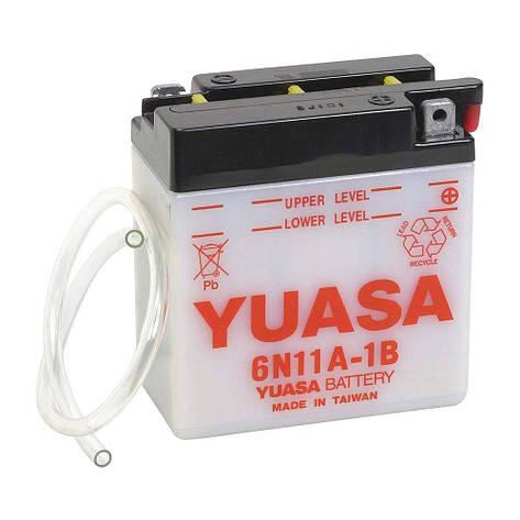 Yuasa 6СТ-11 (6N11A-1B) Мото аккумулятор, фото 2