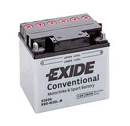 EXIDE 6СТ-30 E60-N30L-A Мото аккумулятор