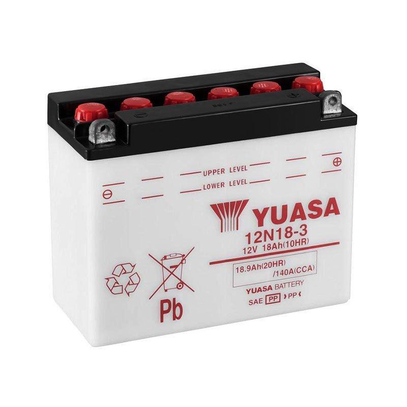 Yuasa 6СТ-18 (12N18-3) Мото аккумулятор