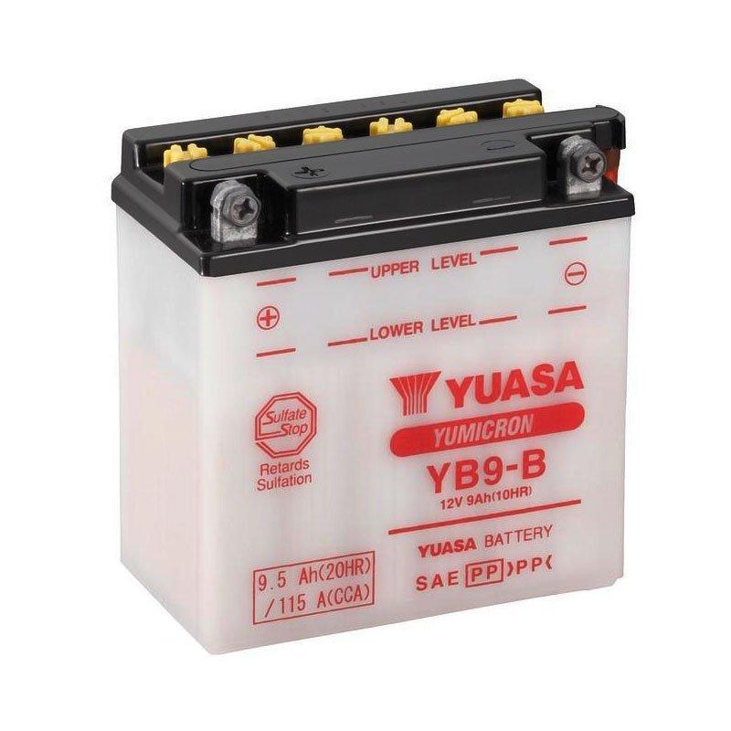 Yuasa 6СТ-9 (YB9-B) Мото аккумулятор
