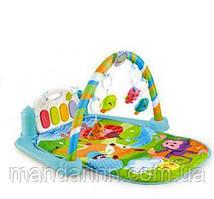 Коврик развивающий с пианино для младенца 9903