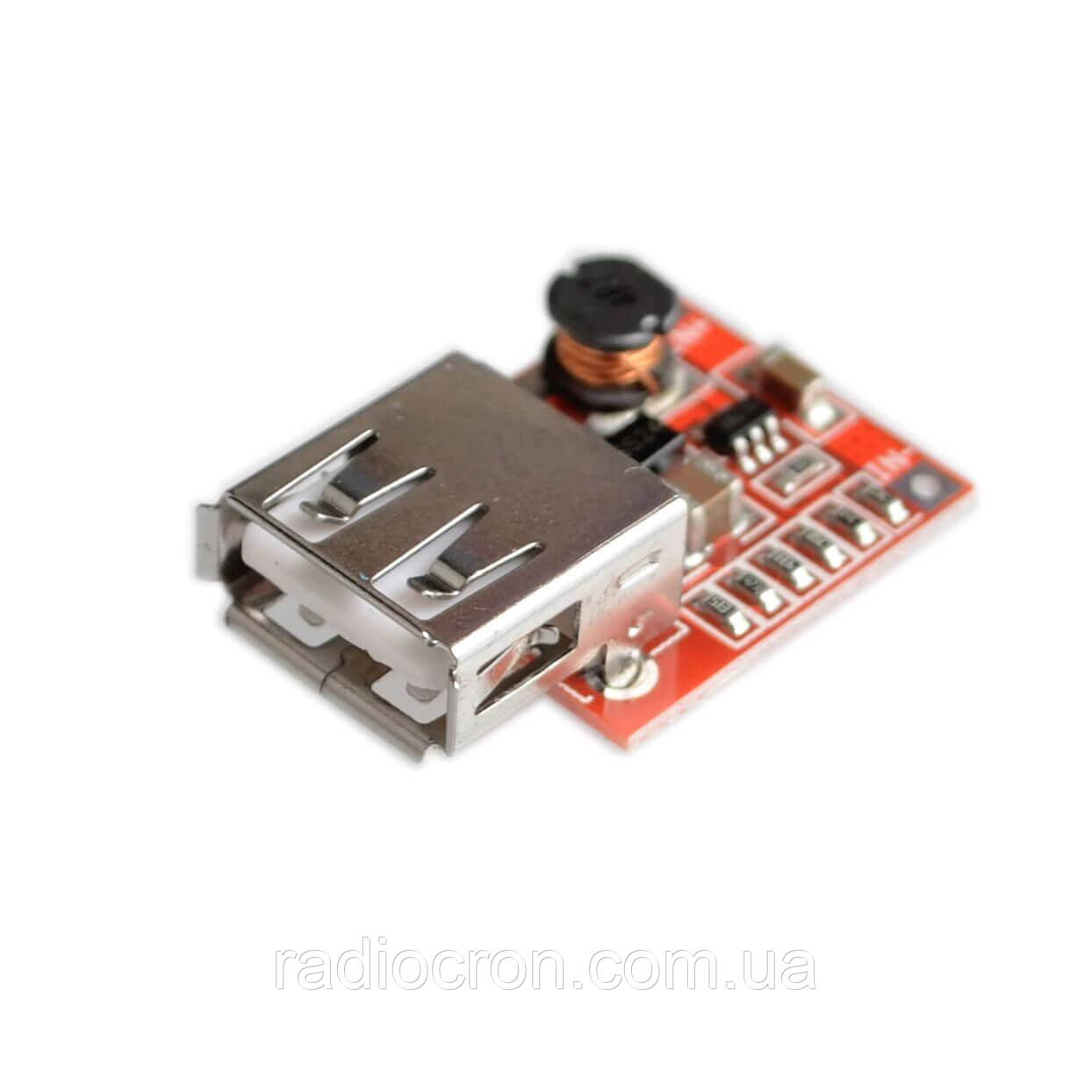 Підвищуючий перетворювач USB, 3-5В, 1.5 A