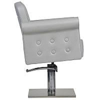 Парикмахерское кресло Miami серое, фото 1