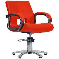 Парикмахерское кресло Milano красное, фото 1