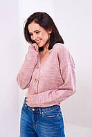 Вязаний свитер  Stimma Минора 3978 Xs Темно-Розовый