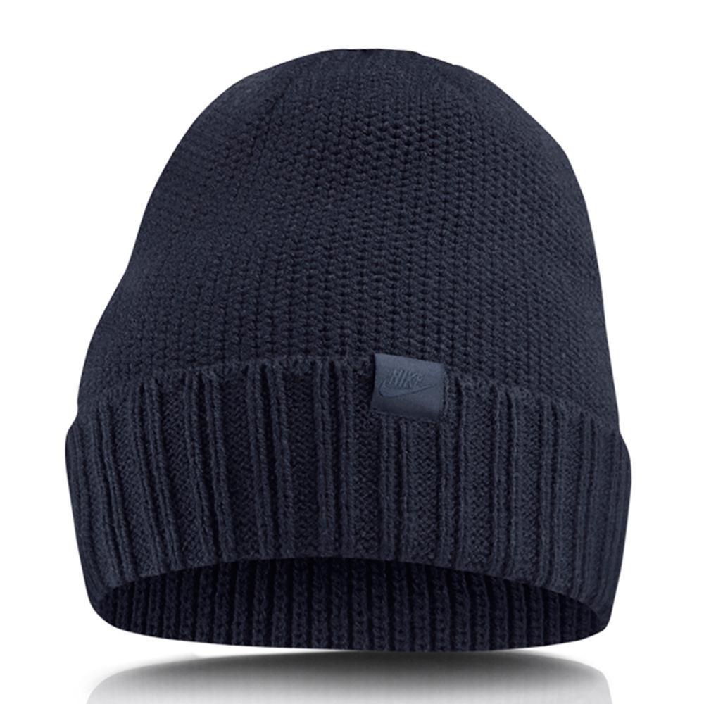 Шапка Nike U NSW Beanie 925417-451 Темно-синий (887232719418)