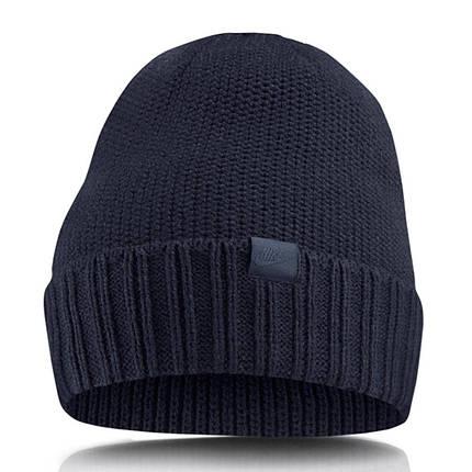 Шапка Nike U NSW Beanie 925417-451 Темно-синий (887232719418), фото 2