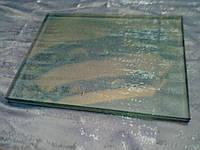 Триплекс сырой 0.3см + 0.3см, 100см х 100см, сатин