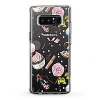 Чехол силиконовый для Samsung Galaxy (Женские аксессуары) J8/J7 Max/Core/Prime/Duo/V/J6 Plus/J4/J3 Pro/J2/J1 mini самсунг галакси джей плюс про 2018