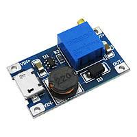 MT3608 MicroUSB Підвищуючий перетворювач з регулюванням напруги