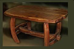 Стол из натурального дерева мебель под старину