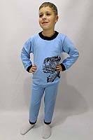 """Пижама детская теплая для мальчика """"Динозавр"""""""