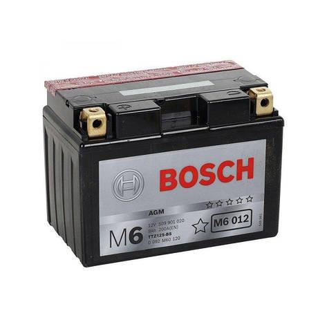 Bosch 0 092 M60 120 Мото аккумулятор, фото 2