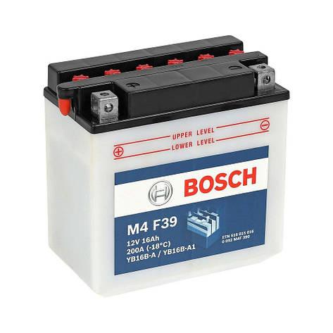 Bosch 0 092 M4F 390 Мото аккумулятор, фото 2