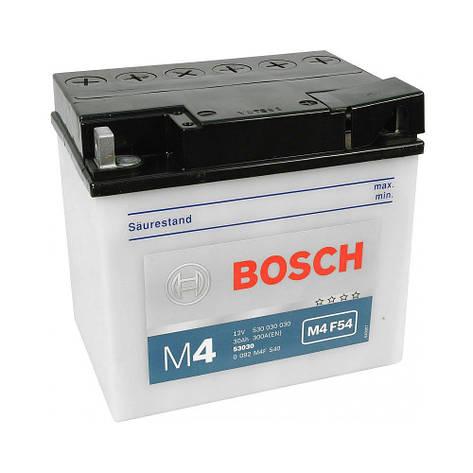 Bosch 0 092 M4F 450 Мото аккумулятор, фото 2