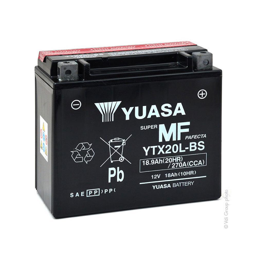 Yuasa 6СТ-18 (YTX20L-BS) Мото аккумулятор