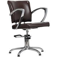 Парикмахерское кресло Palermo коричневое, фото 1