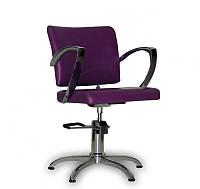 Парикмахерское кресло Palermo фиолетовое, фото 1