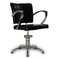 Парикмахерское кресло Palermo черное, фото 1