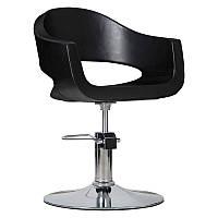 Парикмахерское кресло Prato черное, фото 1