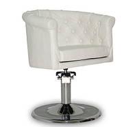 Парикмахерское кресло Rimini белое, фото 1