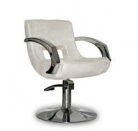 Парикмахерское кресло Roma светло золотой крокодил, фото 1