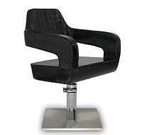 Парикмахерское кресло Venezia черное, фото 1
