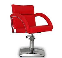 Парикмахерское кресло Verona красное, фото 1