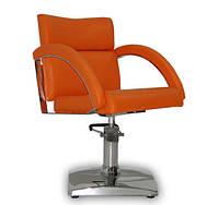 Парикмахерское кресло Verona оранжевое, фото 1