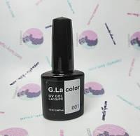 Гель-лак 10 мл G. Lacolor  001