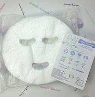 Маска-серветка сітка/mesh Doily® (50 шт/пач)косметологічна  з отворами для очей і рота  зі спанлейсу