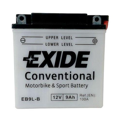 EXIDE 6СТ-9 АзЕ (EB9L-B) Мото аккумулятор