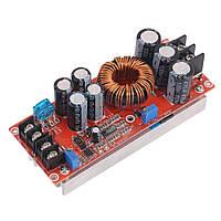 1200Вт, 20А Підвищуючий перетворювач з регулюванням напруги, струму, 8-60В до 12-83В